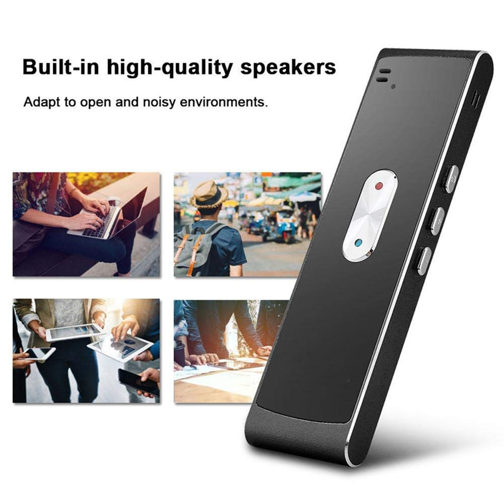 Translaty MUAMA Enence Smart Instant Real Time Voice 40 Languages Translator New (Black)