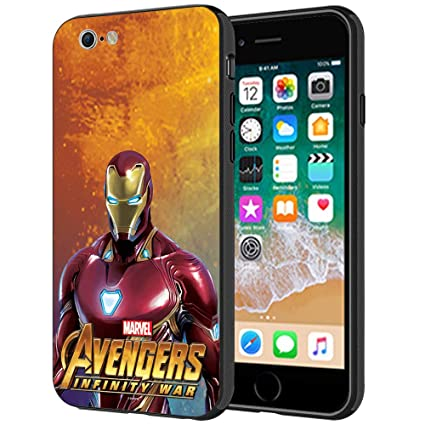 on sale f650d bc429 MTT Marvel Iron Man Infinity War Printed Mobile Back Case Cover for Apple  iPhone 6S & 6
