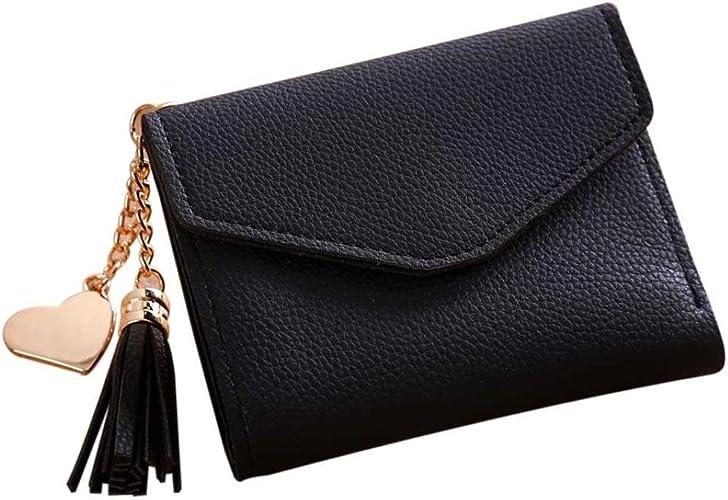 Amazon.com: Wobuoke - Monedero de billetera con borlas ...