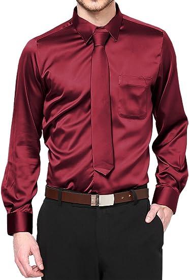 New Daniel Ellissa Boys Burgundy Dress Shirt with Tie and Hanky sz 4-20