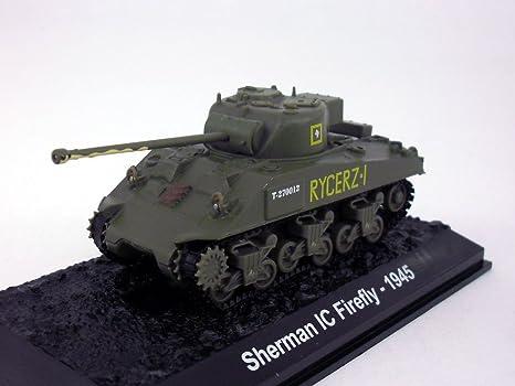 Amazon com: Sherman Firefly Medium Tank 1/72 Scale Diecast