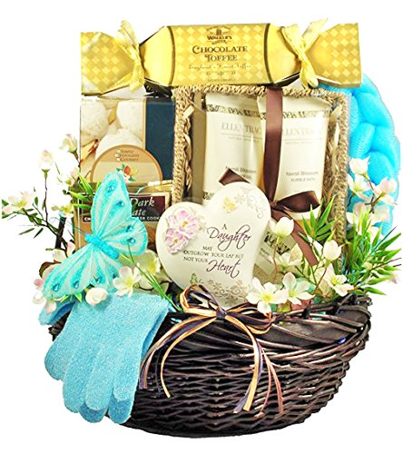 A Daughter May Outgrow Your Lap But Not Your Heart | Gift Basket