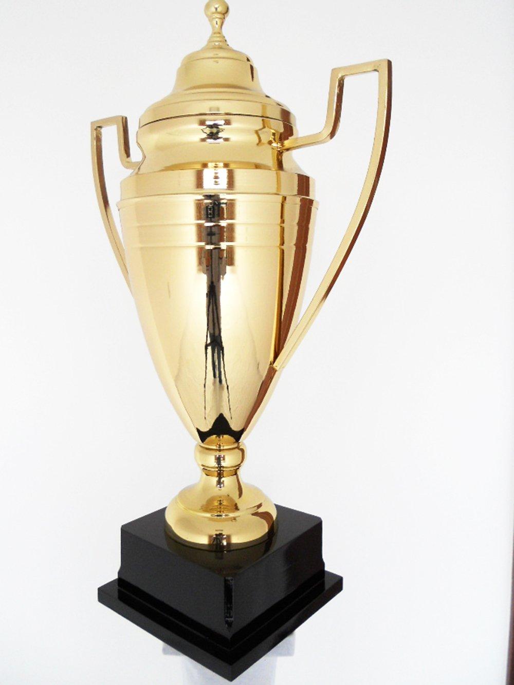 Bigサイズ56 cm 22インチゴールドメタルCup Trophy – テニスAwardスポーツAward B075JJZ69T