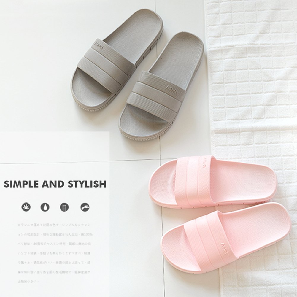 INFLATION Bath Slipper UnisexNon-Slip Open Toe Women Men Shower Sandals Indoor Anti-Slip Home Slippers by INFLATION (Image #7)
