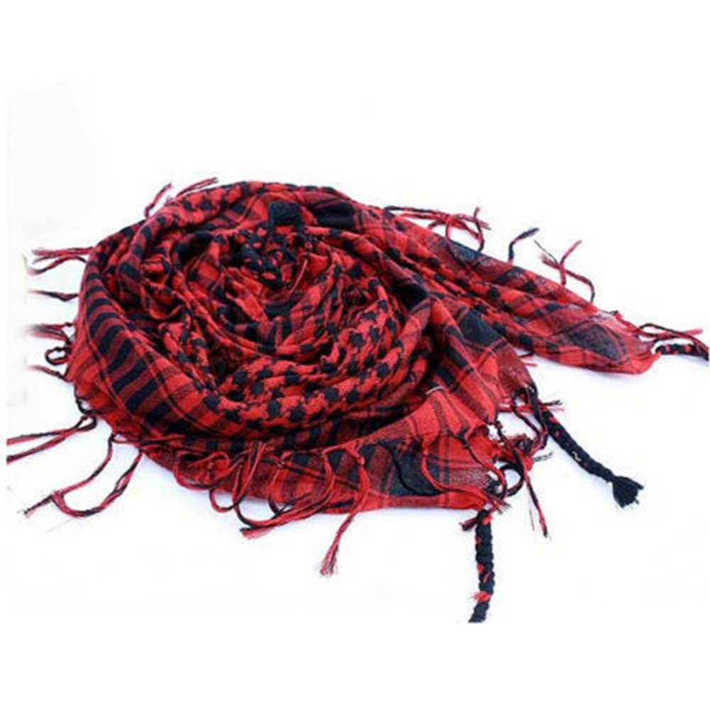Yamalans Fashion Unisex Lightweight Desert Army Shemagh KeffIyeh Scarf