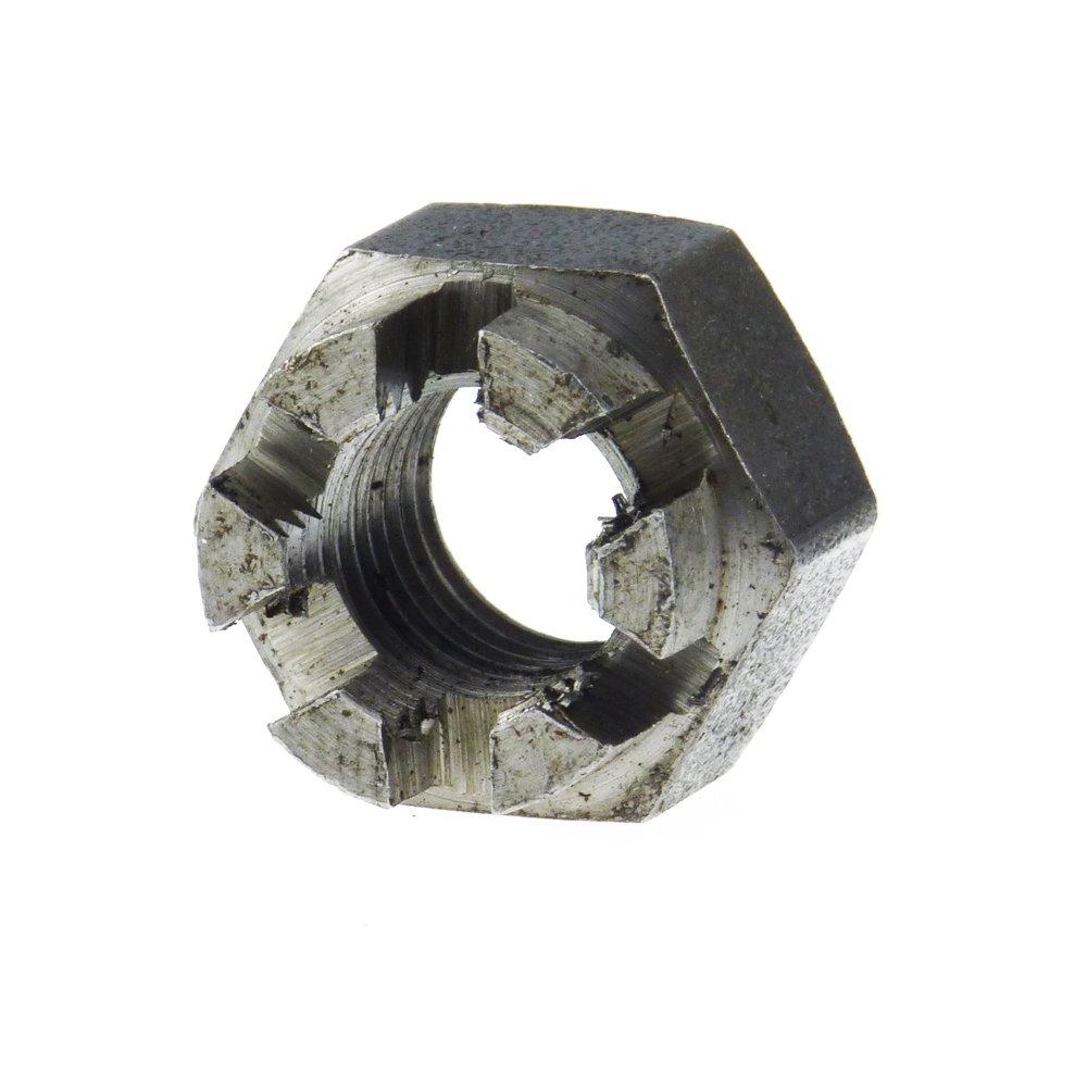 Kronenmutter DIN 935-1 6 Stahl blank Feingewinde M 36 x 1,5-1 St/ück