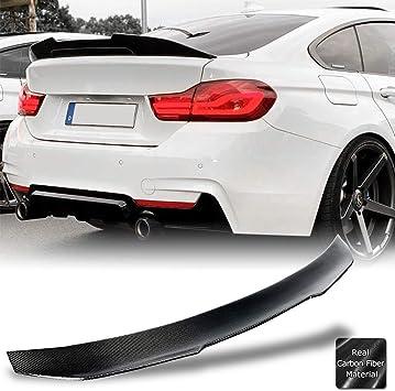 CS Style Carbon Fiber Trunk Wing Spoiler Fits BMW F36 420i 435i 440i Gran Coupe