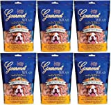 Loving Pets Gourmet Carrot and Chicken Dog Treat Wrap 2.25Lb (6 x 6oz), My Pet Supplies