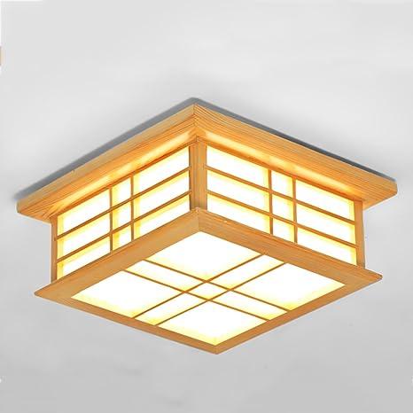 JBZP lámparas de techo de estilo japonés luz de salón de ...