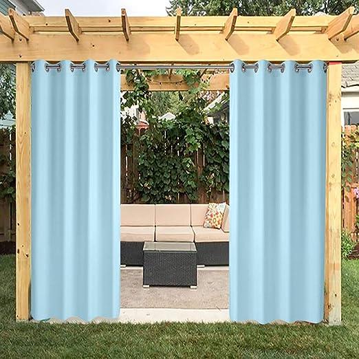 HGmart - Panel de cortina para exteriores para patio de porche ...