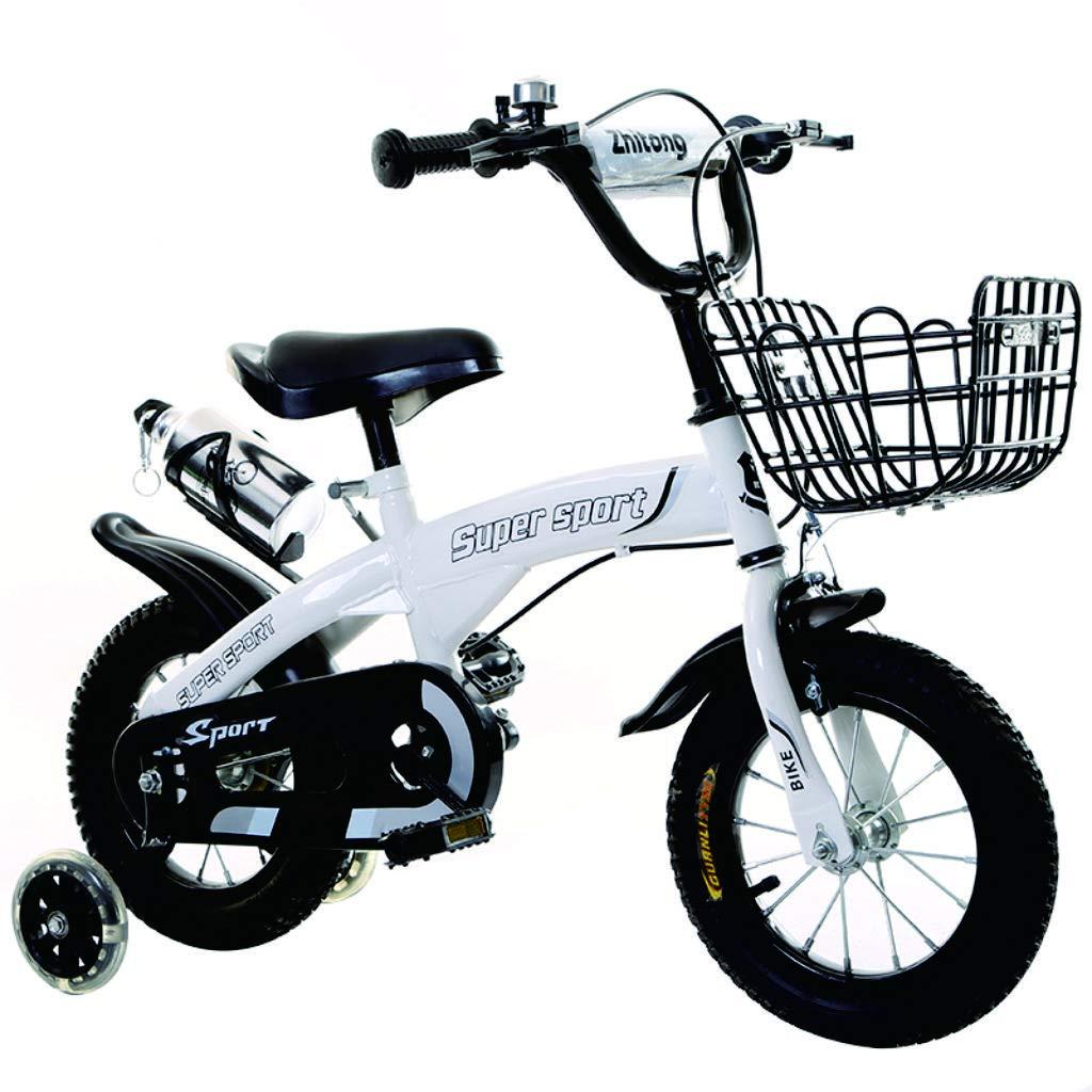 liusa Freestyle Bicicleta Bicicleta para niños 12 Pulgadas/báscula Bicicleta con Rueda de Entrenamiento de Chicos y Chicas (H 38 cm, L 50 cm, ...