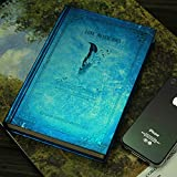 Vampire Diaries Notepad Diary Journal Book Notebook Paper Diary Book Stationery Notebook Vintage Diary B 120 Pages (Blue) Christmas Gift