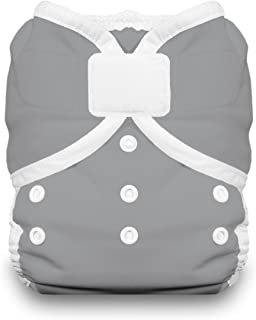 product image for Thirsties Duo Wrap Cloth Diaper Cover, Hook and Loop Closure, Fin Size Two (18-40 lbs)