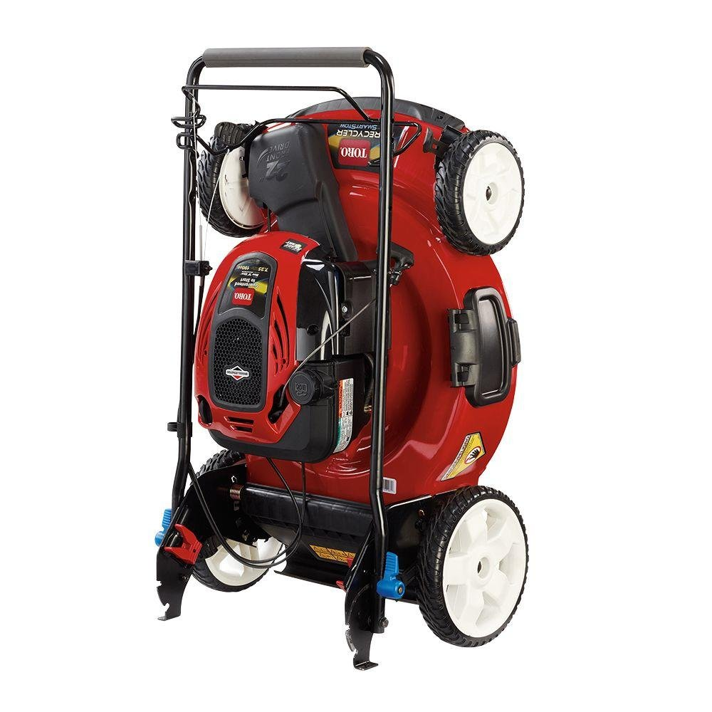 Toro 22 in. High Wheel Variable Speed Self-Propelled Walk-Behind Gas Lawn Mower with SmartStow