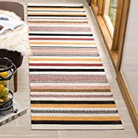 Safavieh Montauk Collection MTK211A Red and Multi Runner (26 x 4)
