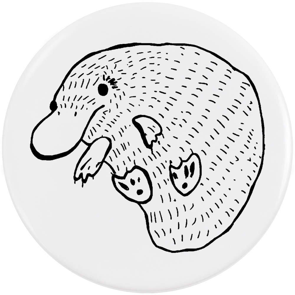 Azeeda 58mm 'Ornithorynque' bouton de badge (BB00043074)