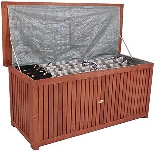 Arcón Caja de madera para jardín cojines – Fregadero Caja de ...