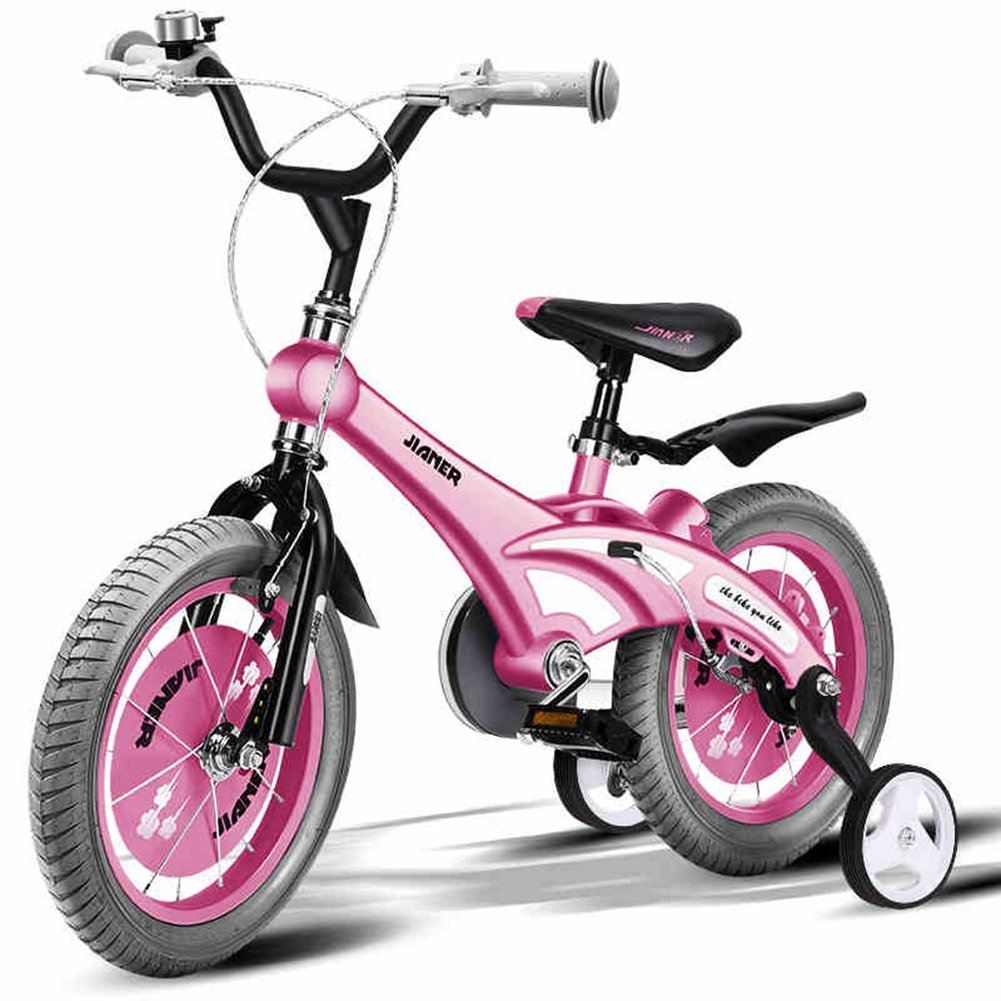 XQ TR 437ピンクの子供の自転車キッズ自転車3-8歳の女の子は安定した14インチ、98 * 38 * 76センチメートル乗って安全 子ども用自転車 ( 色 : ピンク ぴんく ) B07C5JF5LB ピンク ぴんく ピンク ぴんく