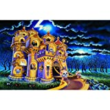 Haunted Castle 100pc Childrens Jigsaw Puzzle by Sally Smith