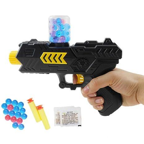 CS Game - Pistola de aire 2 en 1 con pistola de cristal y balón de ...