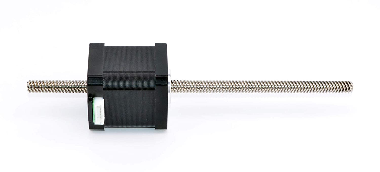 STEPPERONLINE Nema 17 Non-captive 48mm Stapel 1.68A Gewindespindel 8mm//0.31496 inches longitud 200mm para 3D DRUCKER//CNC-Fr/äse