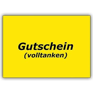 Cartes de vœux avec Quantité   Boîte Rectangulaire Réservoir Bon réduction  pour volltanken 1 Grußkarte 67ba10ef8f7