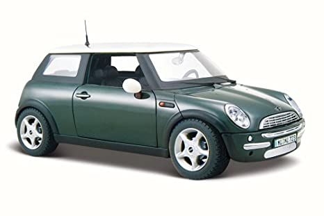 Amazon Com Maisto Mini Cooper Hard Top Green 31219 1 24 Scale