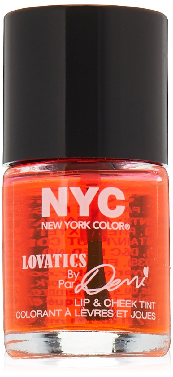 NYC Lovatics by Demi Lip & Cheek Tint - Cheeky Pink N.Y.C. New York Color NYC 27005926001
