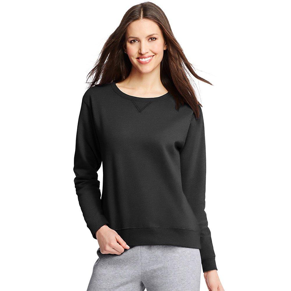 b9dfc9c2ba4 Hanes ComfortSoft EcoSmart Women s Crewneck Sweatshirt at Amazon Women s  Clothing store