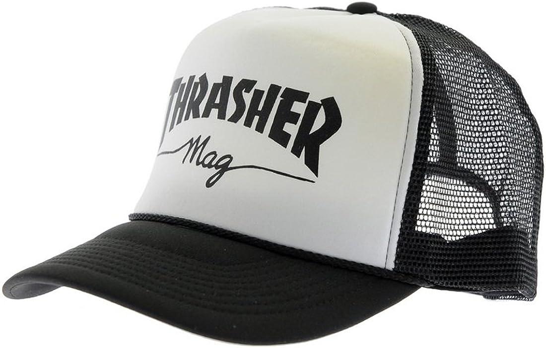 Thrasher - Gorra de béisbol - para hombre blanco blanco: Amazon.es ...