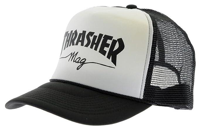 Thrasher - Gorra de béisbol - para hombre blanco blanco: Amazon.es: Ropa y accesorios
