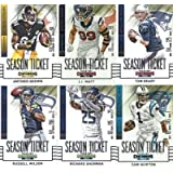 2014 Panini Contenders NFL Football Complete Mint Basic 100 Card Set with Tom Brady Peyton Manning Plus M (Mint)