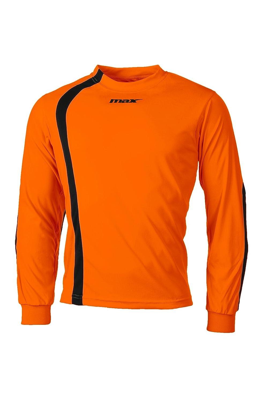 Max Maillot Gardien Piombino Orange Fluo Noir Sport Football