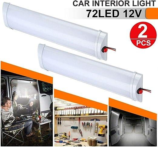 DC12V LED Roof Dome Ceiling Light Switch RV Boat Camper Trailer Interior Lamp