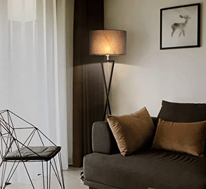 LFFLUODIDENG Ajustable Living Room Lámpara de pie Lámpara de ...