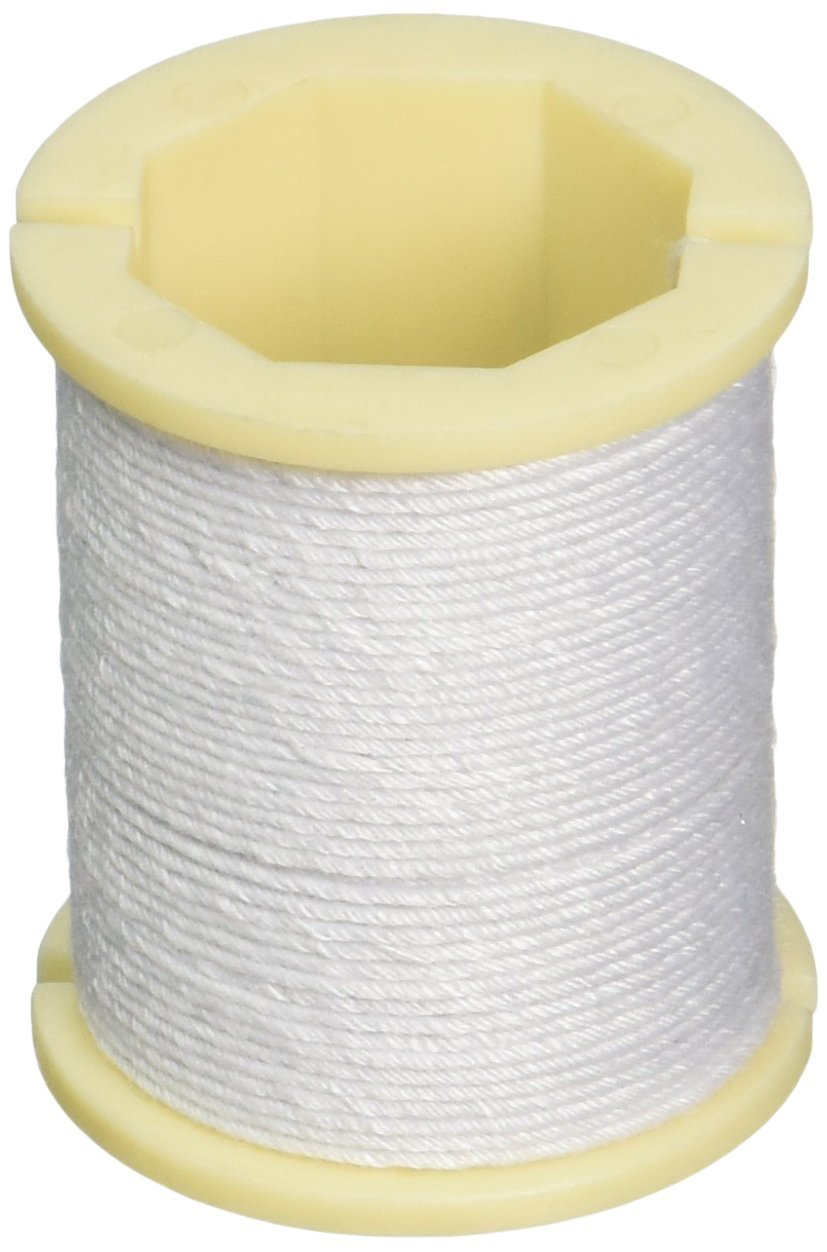 Amazon.com: Panacea Cloth Covered Spool Wire 30ft/Pkg-White: Wall Art