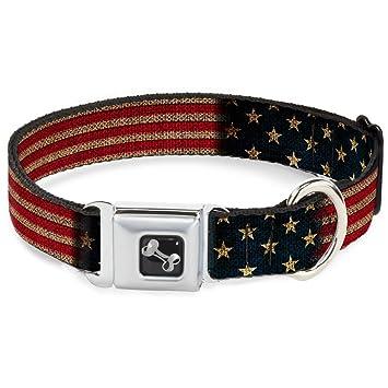 Buckle Down Hebilla de cinturón de Seguridad Collar de Perro ...