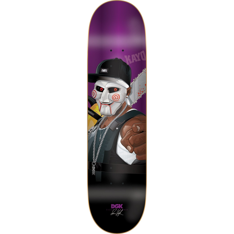DGK Skateboard Deck Vaughn G Killers Foil Purple 8.06''