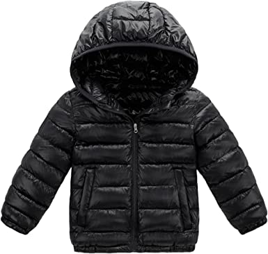 LOSORN ZPY Baby Boy Girl Padded Puffer Fleece Jacket Winter Thick Warm Lightweight Coat Outwear