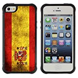 Graphic4You Vintage Spanish Flag of Spai