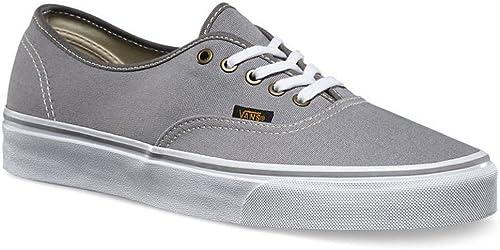 Vans Authentic Grey White Mens Canvas