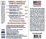Three American Violin Sonatas