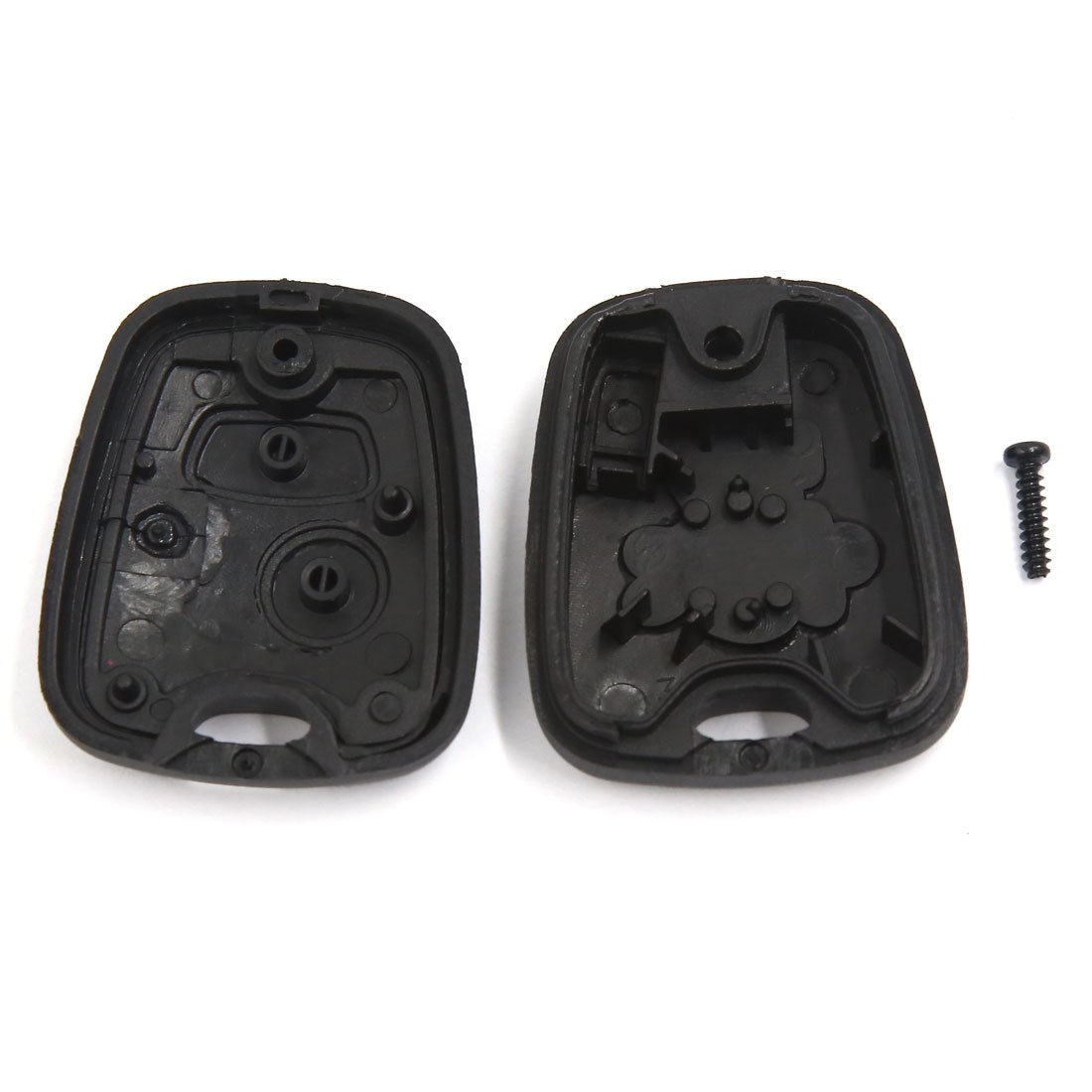 uxcell 2 Button Remote Key Case Shell Fob for Peugeot 107 207 307 407 106 206 306 406
