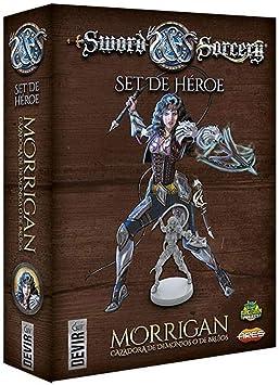 Devir- Sword & Sorcery Personajes: Morrigan (BGSISPM): Amazon.es: Juguetes y juegos