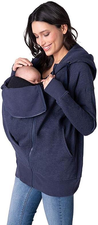Amazon Com Seraphine 3 In 1 Maternity Hoodie Clothing