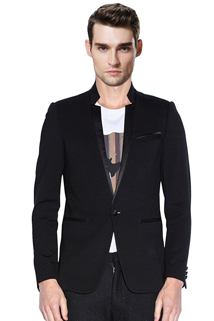 Hanayome Men's 2015 One Piece V-Neck Business Wedding Event Suits U113 U113A1