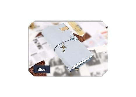 Amazon.com: Cuaderno de piel en espiral, diario planificador ...