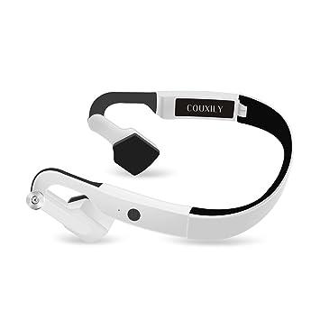 Auriculares Inalámbricos, COUXILY Bluetooth 4.2 Auriculares Bluetooth para Deportes al aire Libre Antitranspirante para Personas