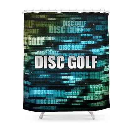 Amazon Sukuraceci Bathroom Disc Golf Shower Curtain 72 By