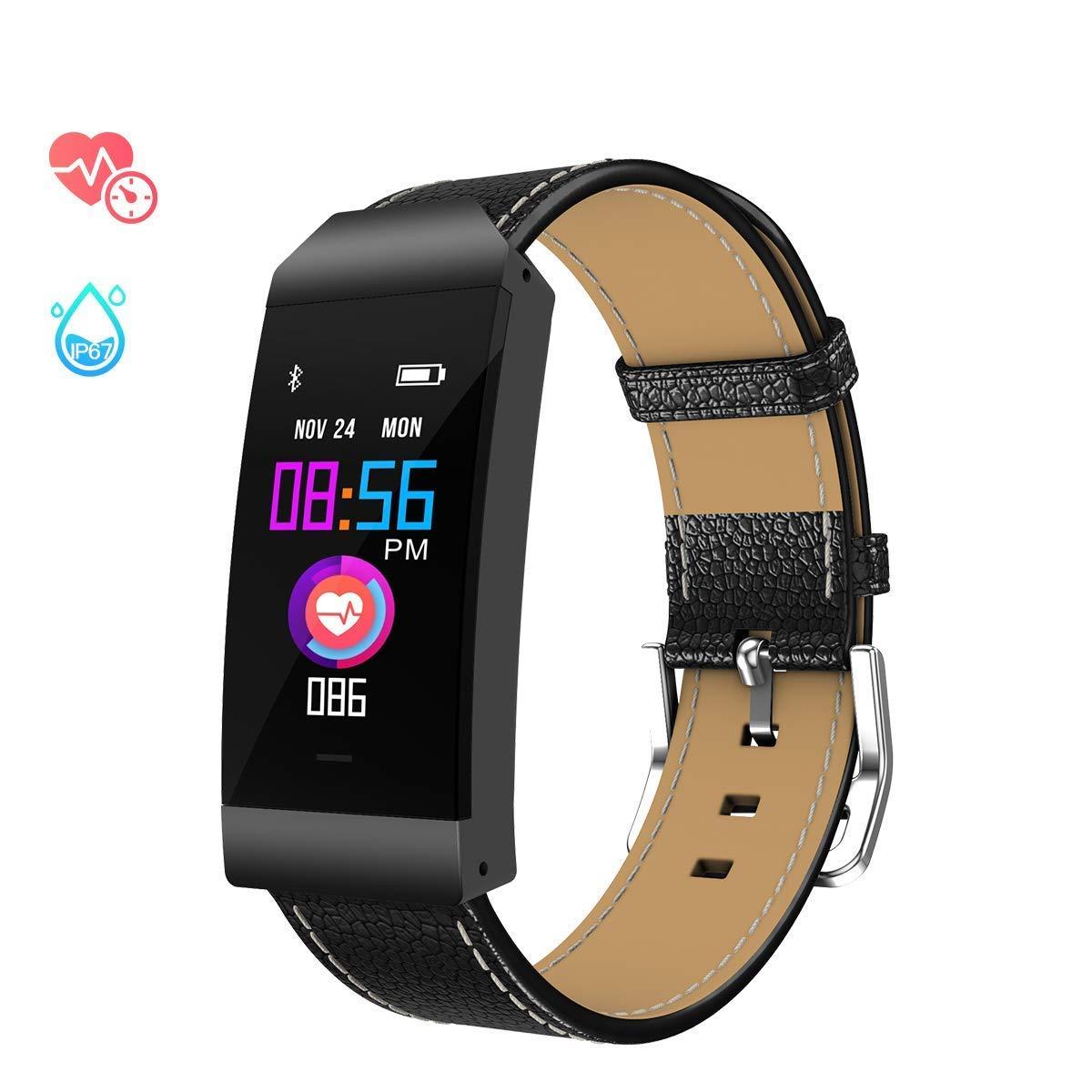 GOKOO Reloj Inteligente Mujer Pulseras de Actividad Reloj de Fitness Smartwatch Deporte Fitness Tracker Impermeable IP67 con Pulsómetros Podómetro Monitor ...